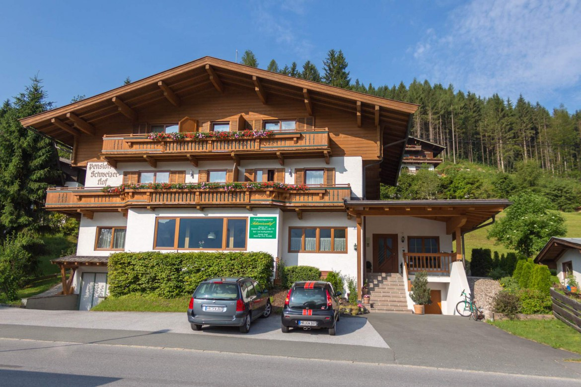 Pension Schweizerhof summer